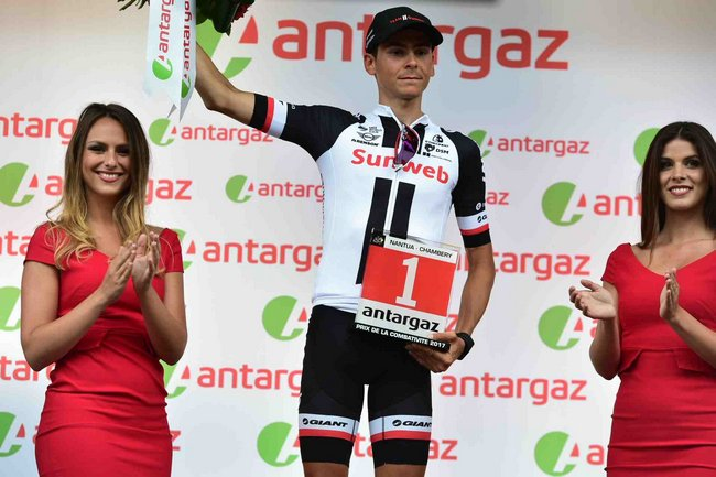 Warren BARGUIL élu Super Combatif du Tour de France 2017