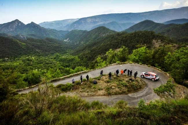 Yoann Bonato - Rallye Antibes Côte d'Azur 2018 - Arrivée 1